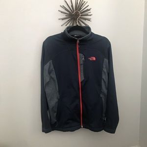 North Face semi soft shell jacket
